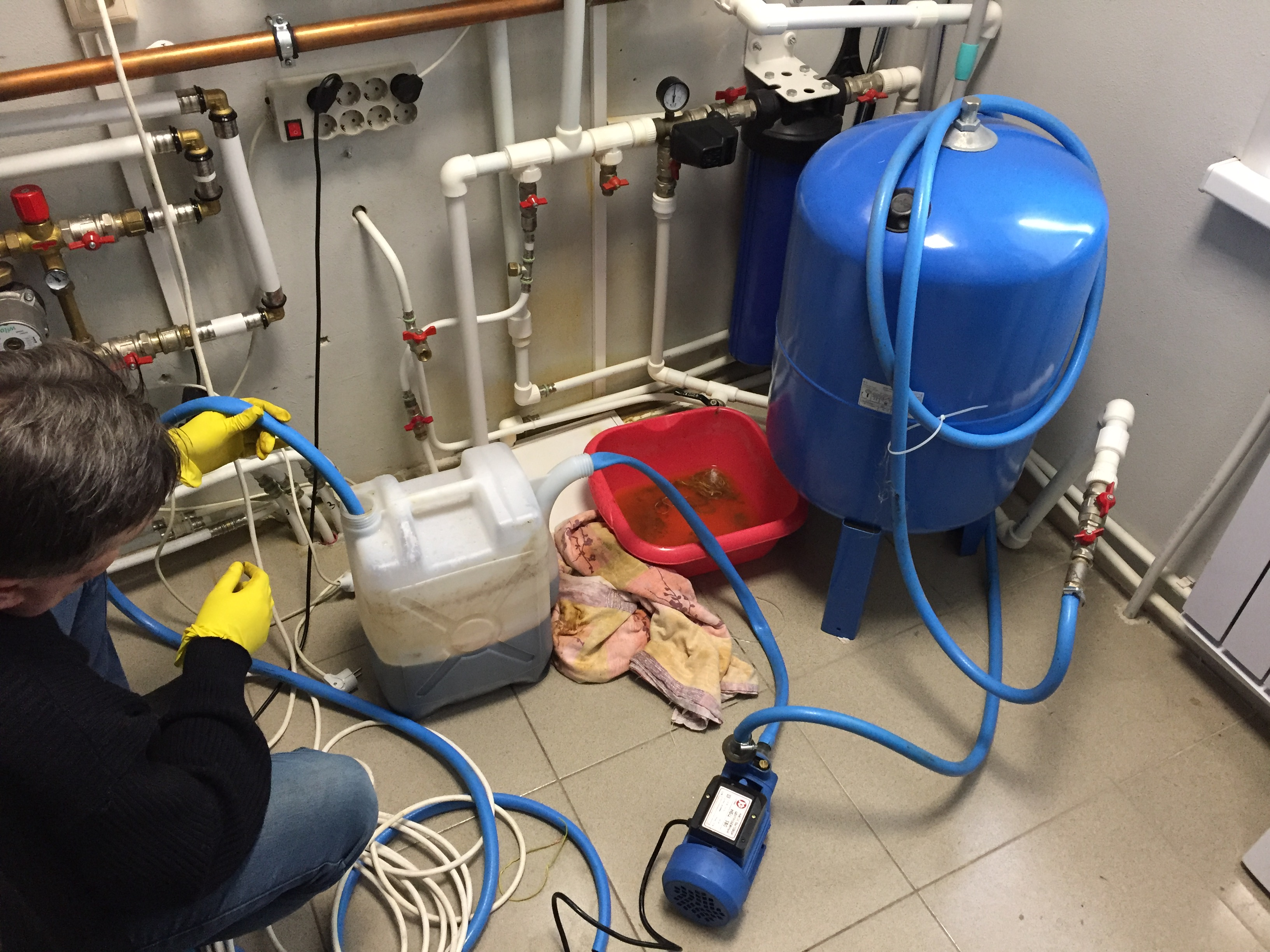 Промывка отопительной системы своими руками