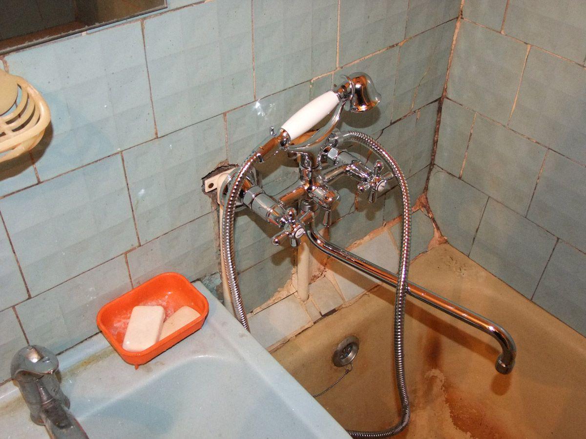 Замена крана в ванной стоимость