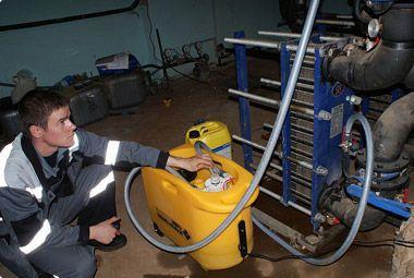 Промывка теплообменника в екатеринбурге теплообменник разборный пластинчатый tl3 bfg