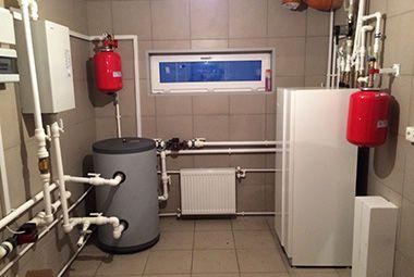 Система отопления частного дома схема тихельмана